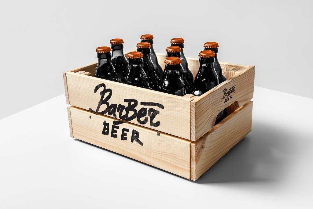 Фирменный стиль для Barber Beer