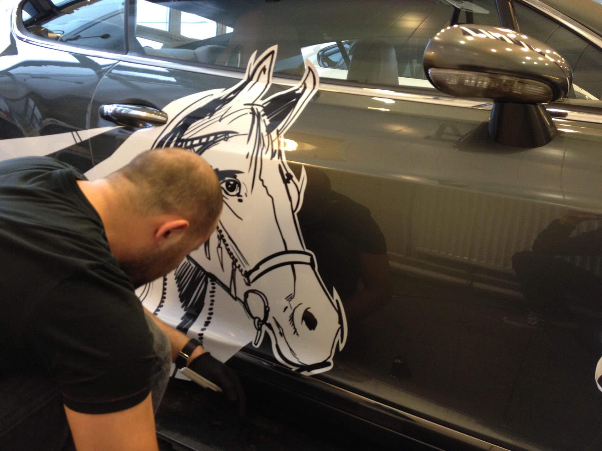 Автовинил для Bentley GT Continental