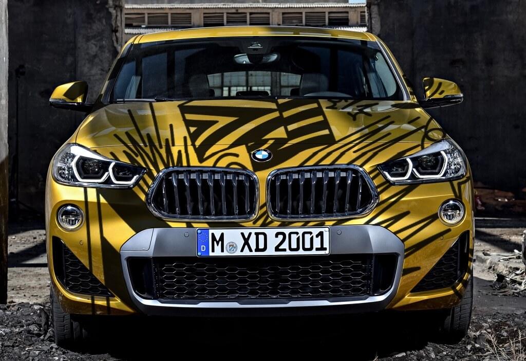 Автовинил для BMW x2