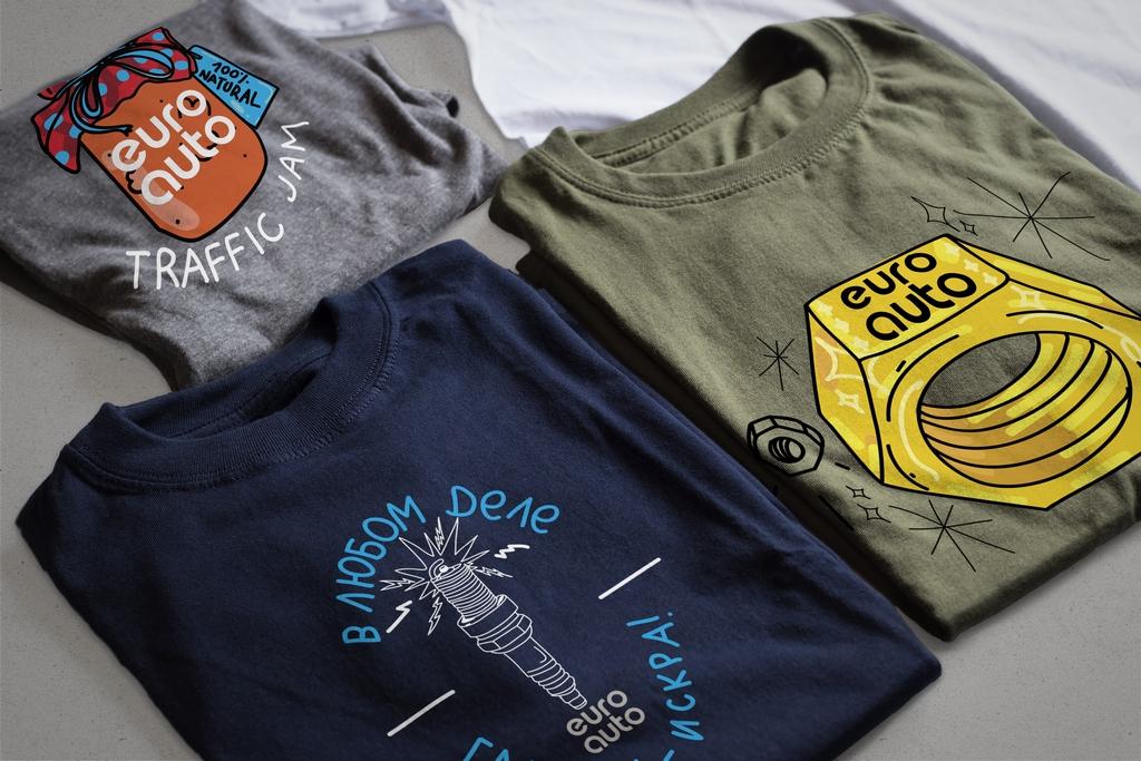 Euro Auto футболки