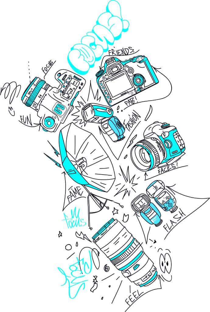 Focus Illustration