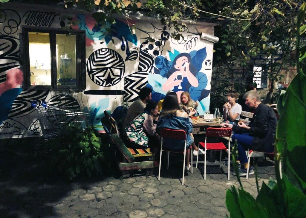 Создание граффити в Батуми