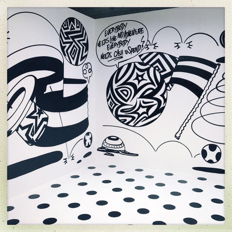 Граффити оформление декораций