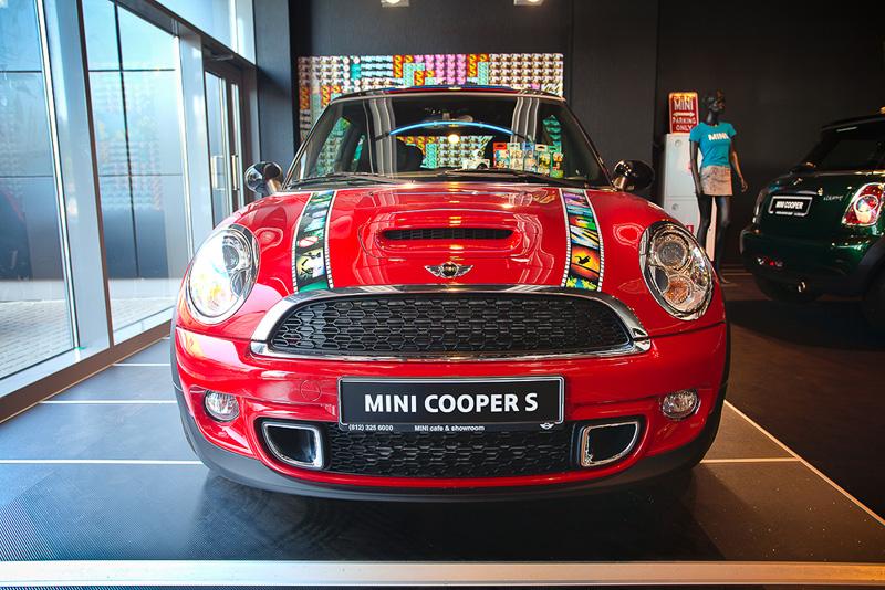 Автовинил Mini Cooper