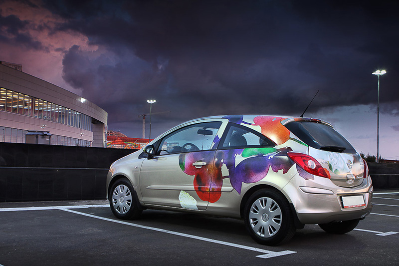 Автовинил для Opel Corsa