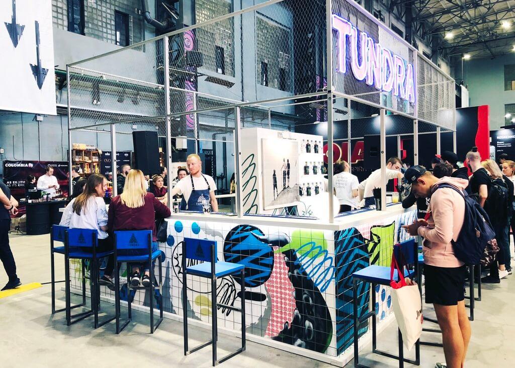 Создание мобильного бара для Vodka Tundra