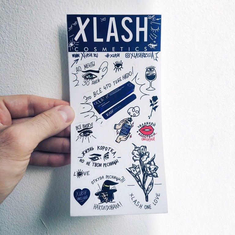 xlash stickerset