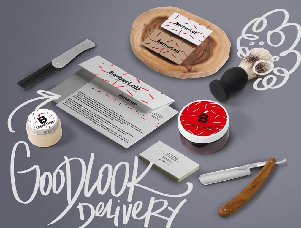 Создание фирменного стиля для Barberlab